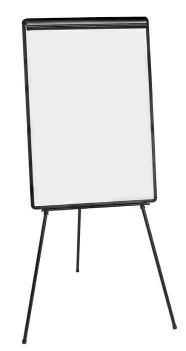 Pricebuster flip chart with dry wipe whiteboard