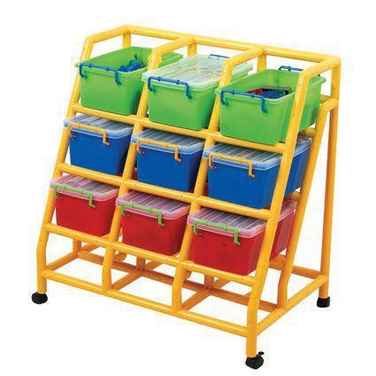 PS 9 Bin Storage Organiser