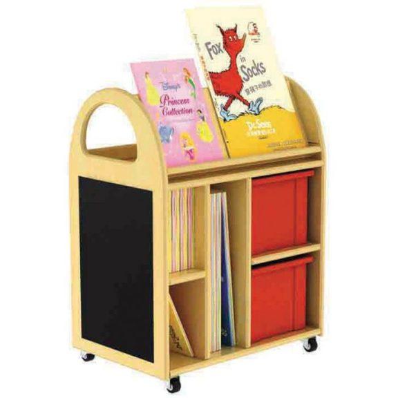 PS Multi-Purpose Book Trolley
