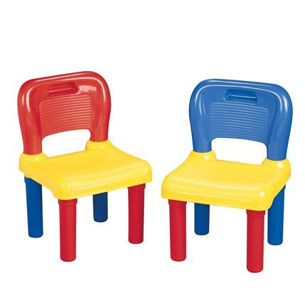 PS Plastic Children's Chairs