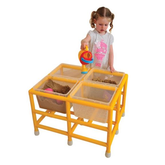 PS Toddler Quad Sand & Water Play Station