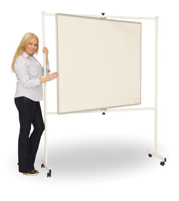 PV Deluxe Pivoting Mobile Whiteboard