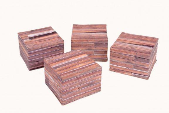 Set of 4 Seating Crates