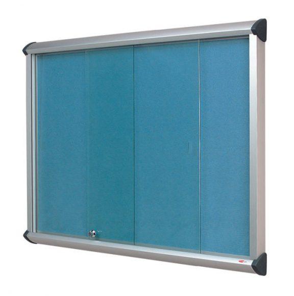 Shield Sliding Door Flame Resistant Showcases
