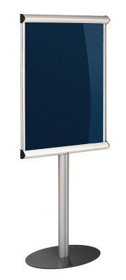 Shield Freestanding Showline Lockable Noticeboard