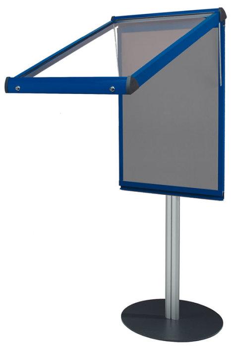 Shield Freestanding Deluxe Lockable Noticeboards