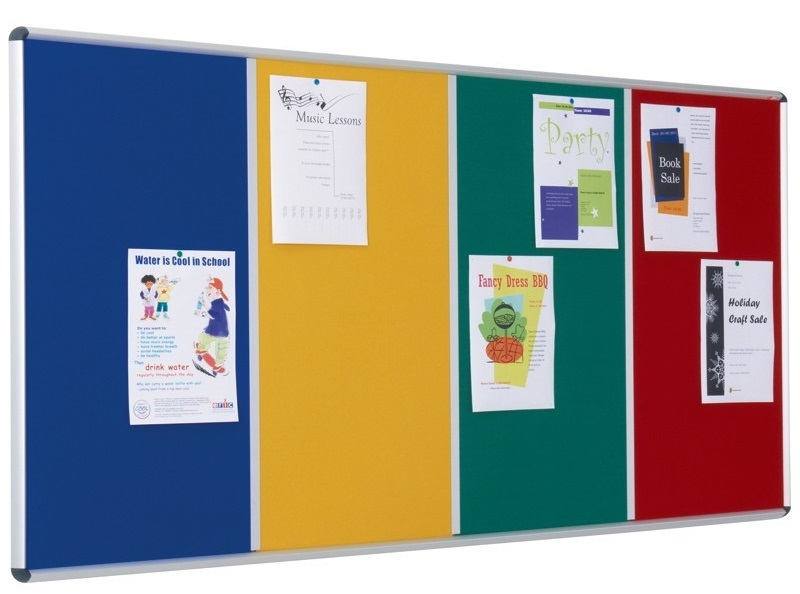 Shield Multibank Noticeboards