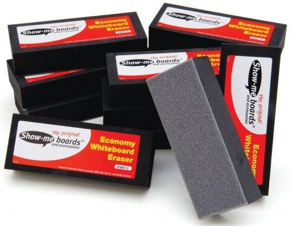 Show Me Economy Whiteboard Erasers