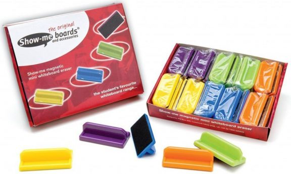 Show Me Magnetic Mini Erasers