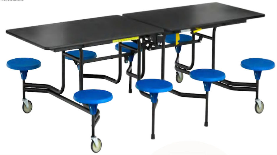Simplo 8 Person Dining Seat Unit