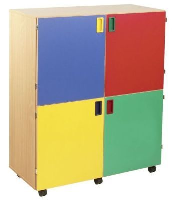 Smartie 36 Mobile Classroom Cupboard