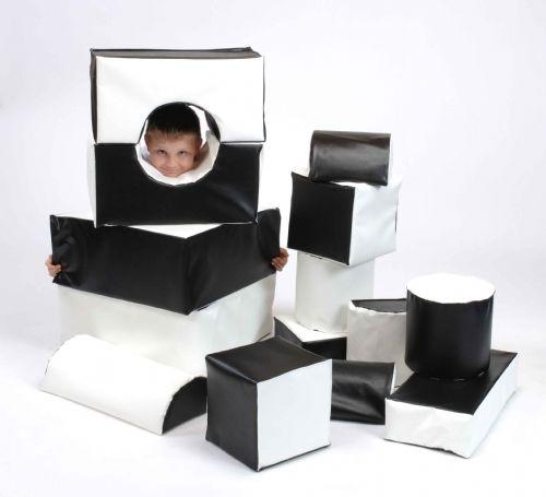 Inclu Softplay Bag Black & White
