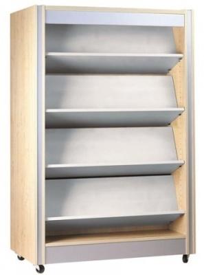 Spectrum Double Sided Bookshelf with Reversible Shelves
