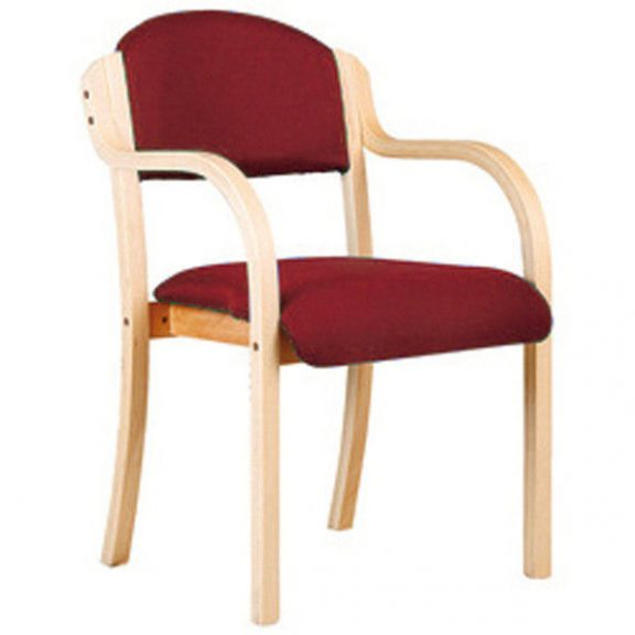Stoll Wooden Framed Arm Chair