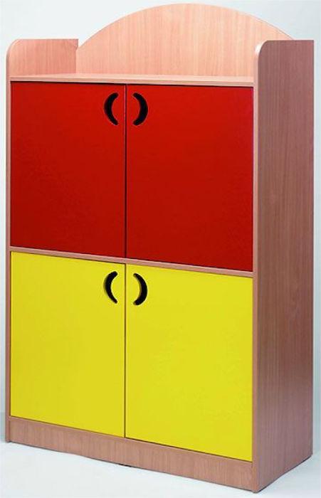 Streetoo Tall Cupboard with 4 Doors