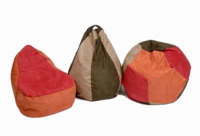 Suede Bean Bag Chair