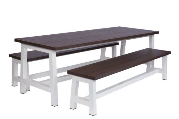 Swerve Canteen Bench Dining Sets