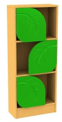 Tall Leaf Bookcase