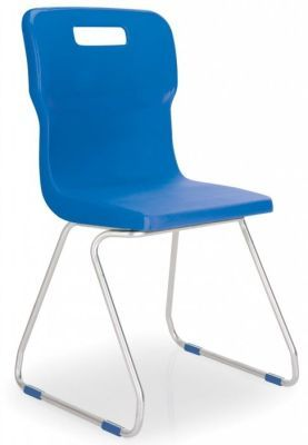Titan Poly Chairs with Skid Base