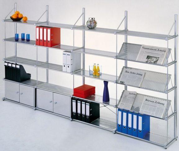Top Line Designer Steel Shelving A