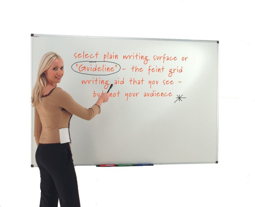 Ultra-Smooth Whiteboards