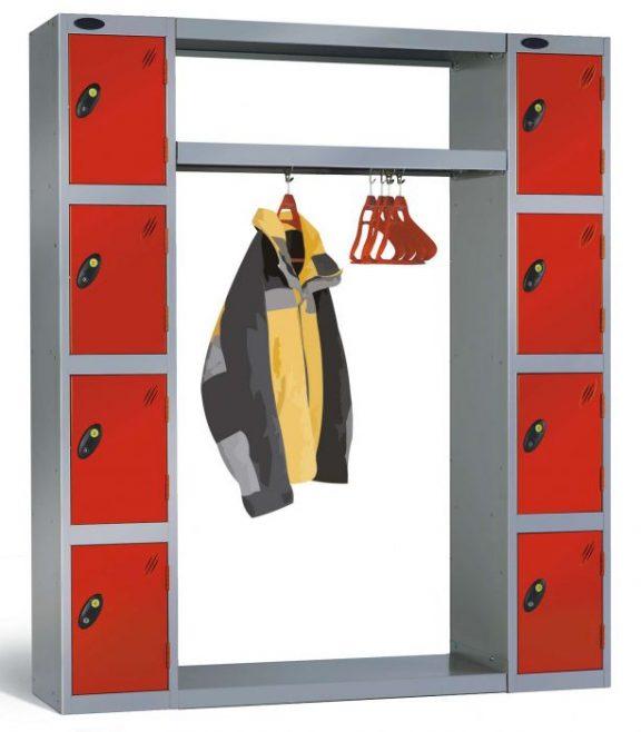 Locker Clothes Rail V2