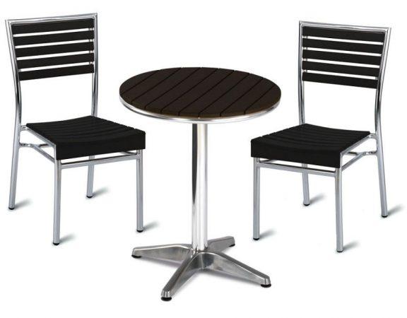 Viva Aluminium Dining Set