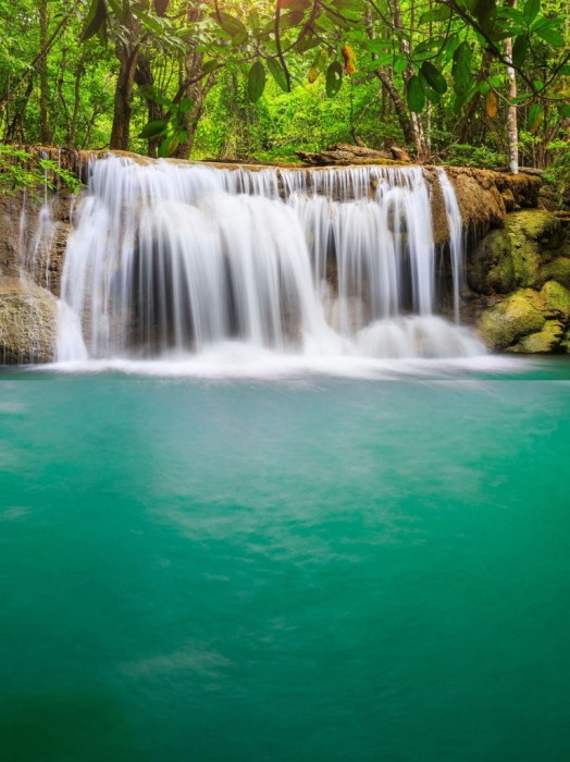 Giant Waterfall and Pool Playmat