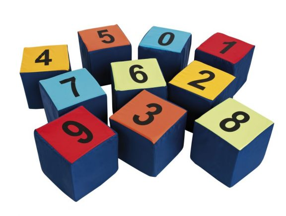 Wise Guy Numbered Seating Cubes - Pack of 10