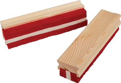 Large Wood Felt Chalk Dusters